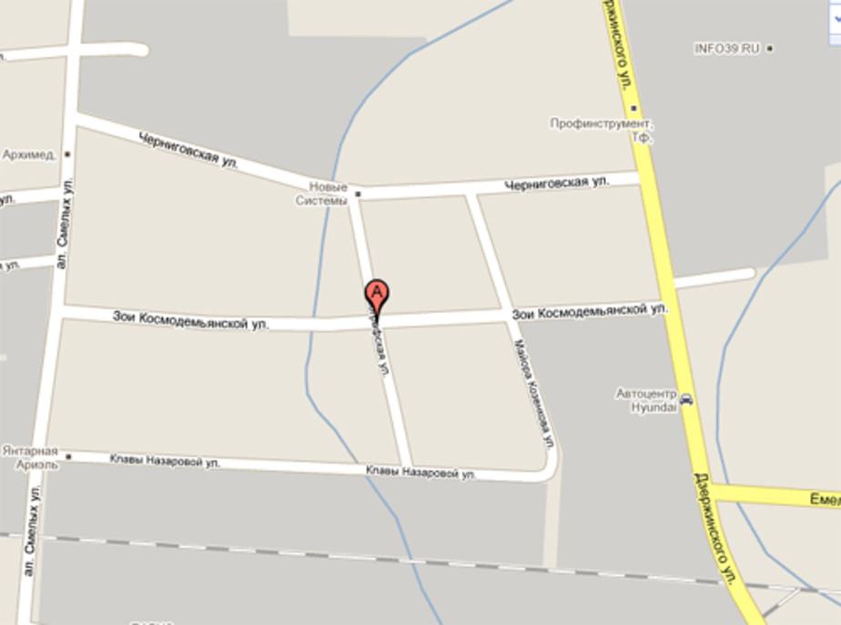 Из-за паводка в Калининграде закрыто движение по ул- Космодемьянской - Новости Калининграда