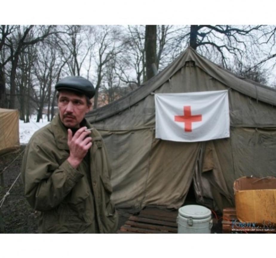 В Калининграде продолжают помогать бездомным - Новости Калининграда