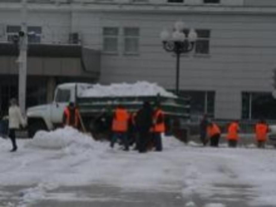 За 3 часа снегопада в Калининграде произошло 36 ДТП - Новости Калининграда