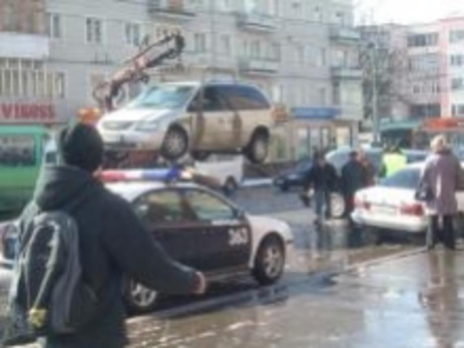 В центре Калининграда столкнулись 3 машины - Новости Калининграда