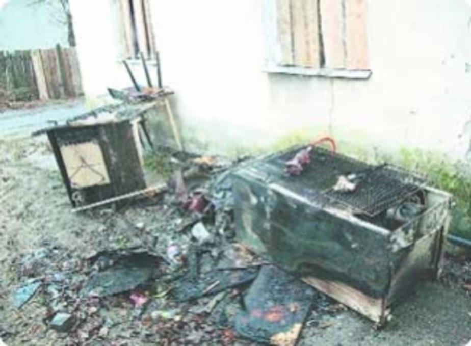 Пожар: Погубил холодильник - Новости Калининграда