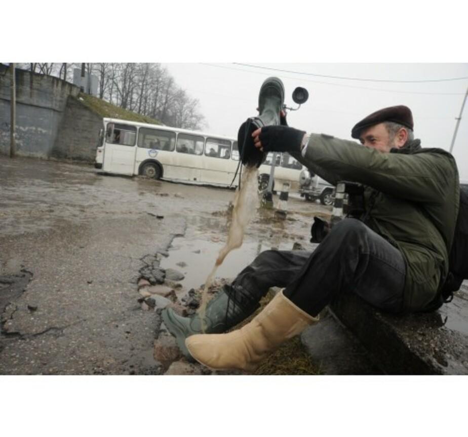 В Калининграде ищут виновных в затоплении улиц и подвалов - Новости Калининграда