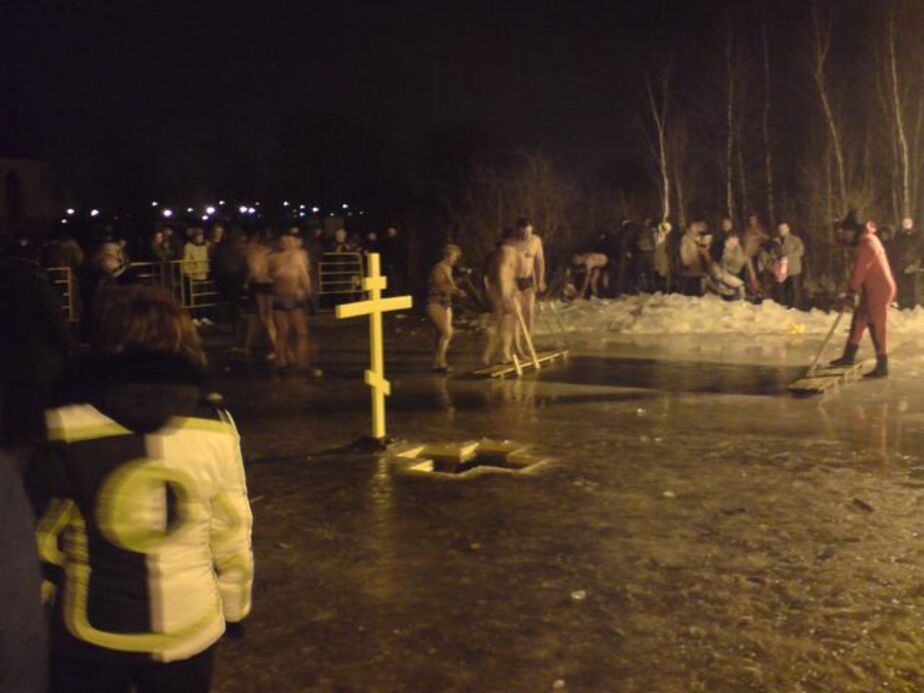 Крещенские купания в Калининграде запланированы на озере Пелавском - Новости Калининграда
