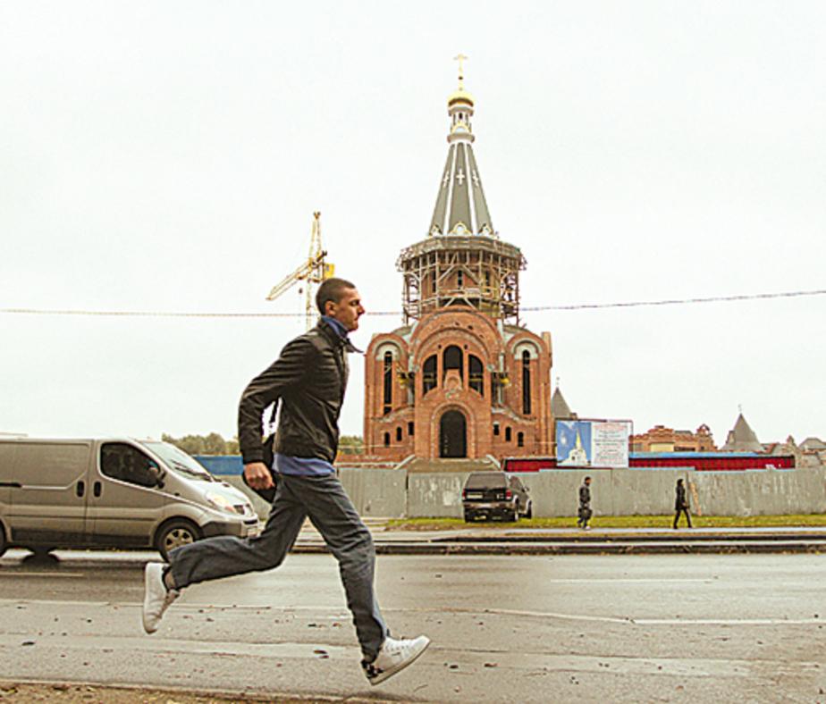 В храме Татианы установили главный купол - Новости Калининграда