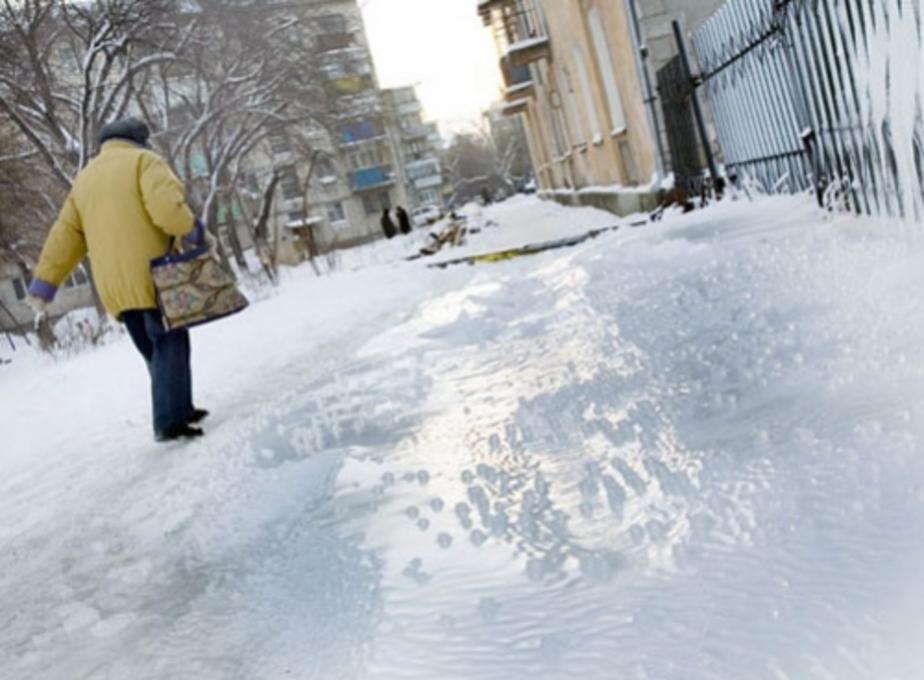 Во вторник в Калининграде ожидаются заморозки и обледенение - Новости Калининграда