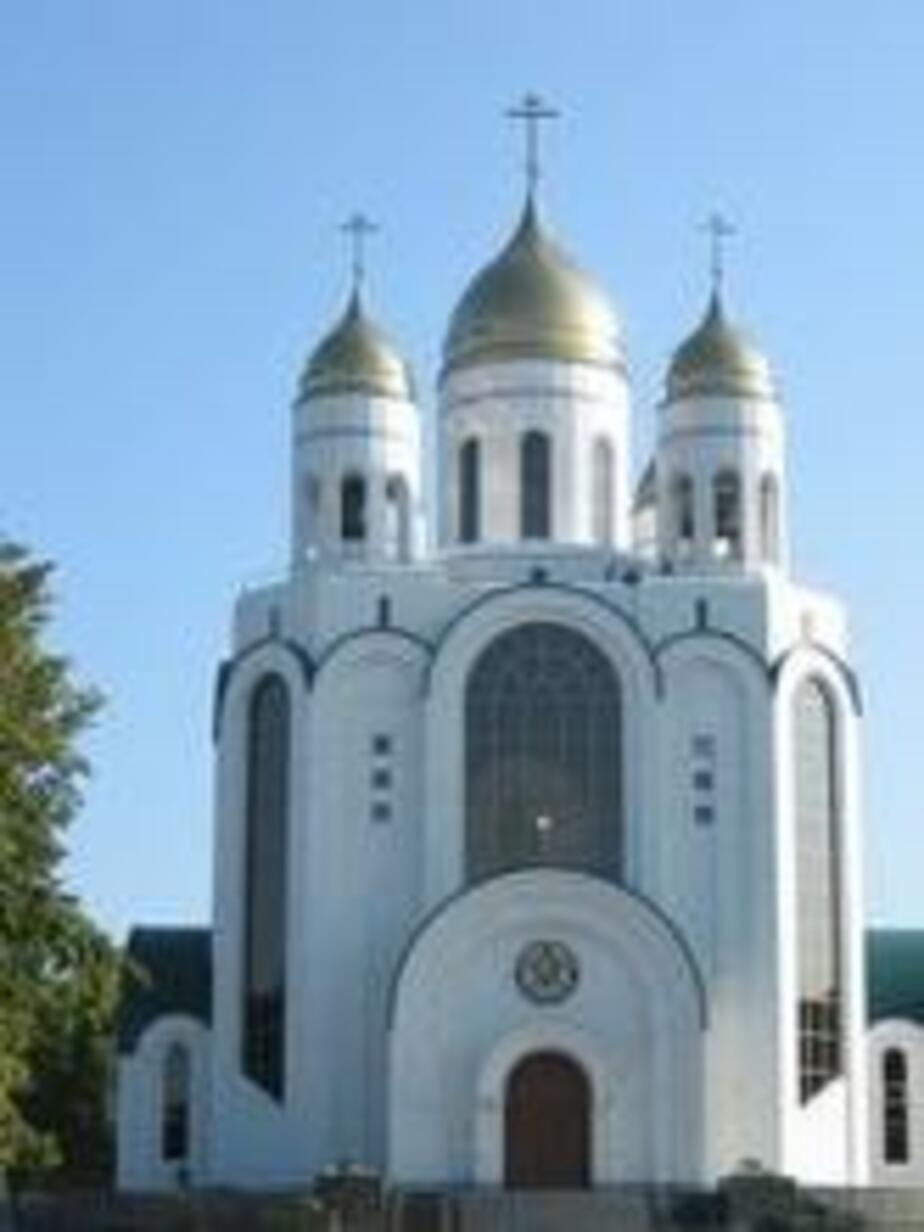 Расписание богослужений в соборе Христа Спасителя в честь Дня святой Троицы - Новости Калининграда