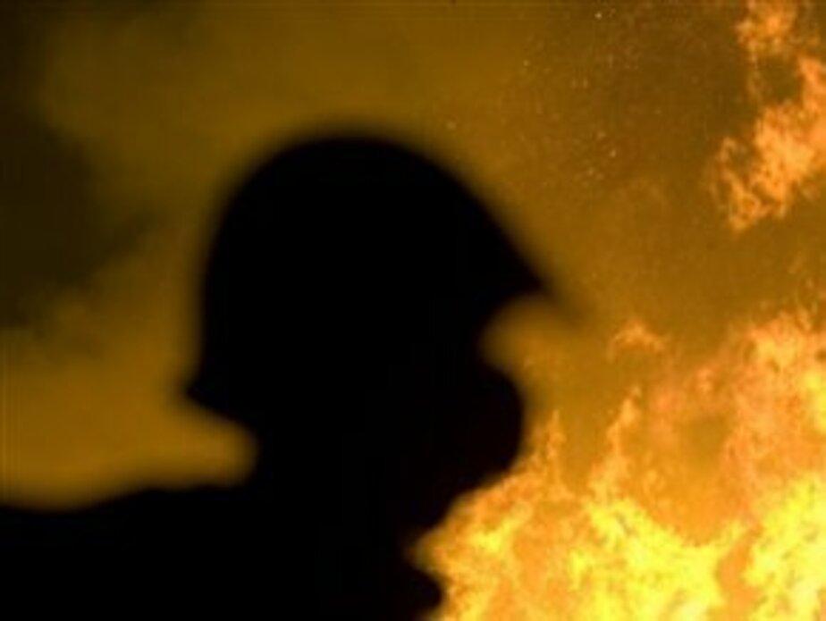 В Балтийске в сгоревших отходах обнаружено тело мужчины - Новости Калининграда