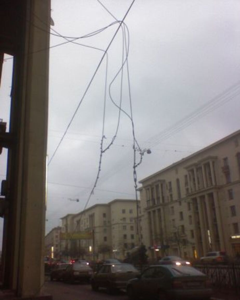 Из-за разгула стихии без света остались 18 тысяч жителей области - Новости Калининграда