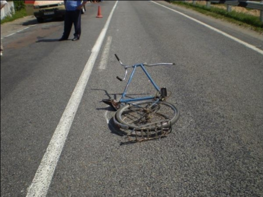 В Гурьевском районе сбили велосипедиста - Новости Калининграда