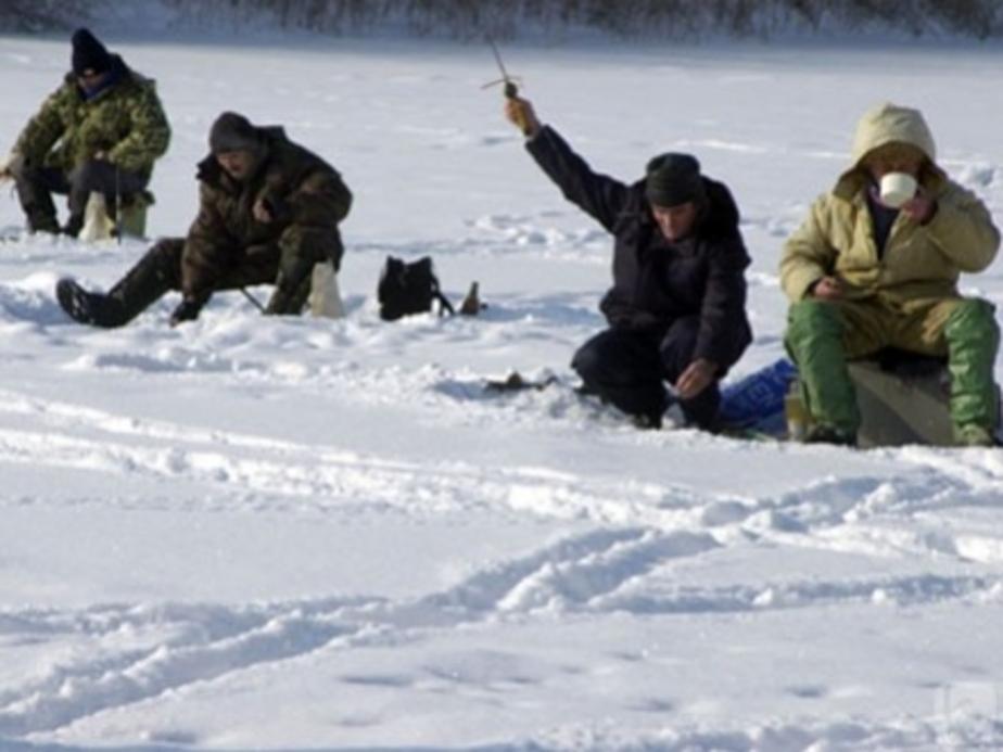 Спасатели сняли с отколовшейся льдины 16 рыбаков - Новости Калининграда
