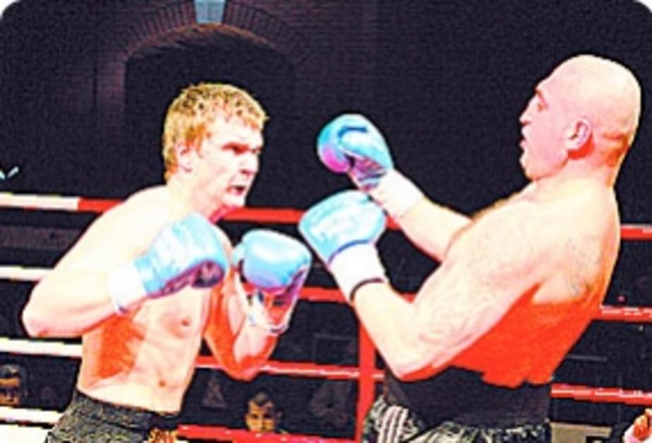 БОКС: Отправил в нокдаун хозяина ринга - Новости Калининграда