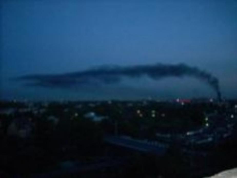 Самый крупный поджог в Калининграде - Новости Калининграда