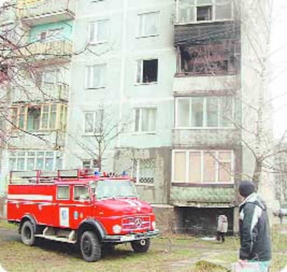 ЧП: Все сгорело дотла! - Новости Калининграда