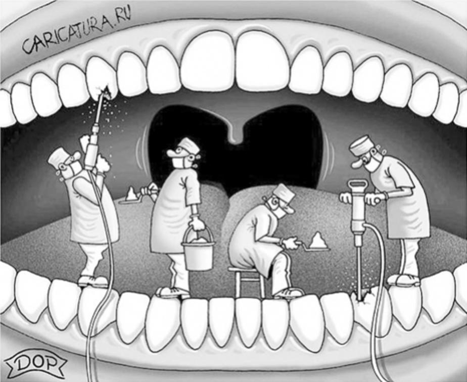 Чтобы не идти к стоматологу, калининградка приклеила себе зуб - Новости Калининграда