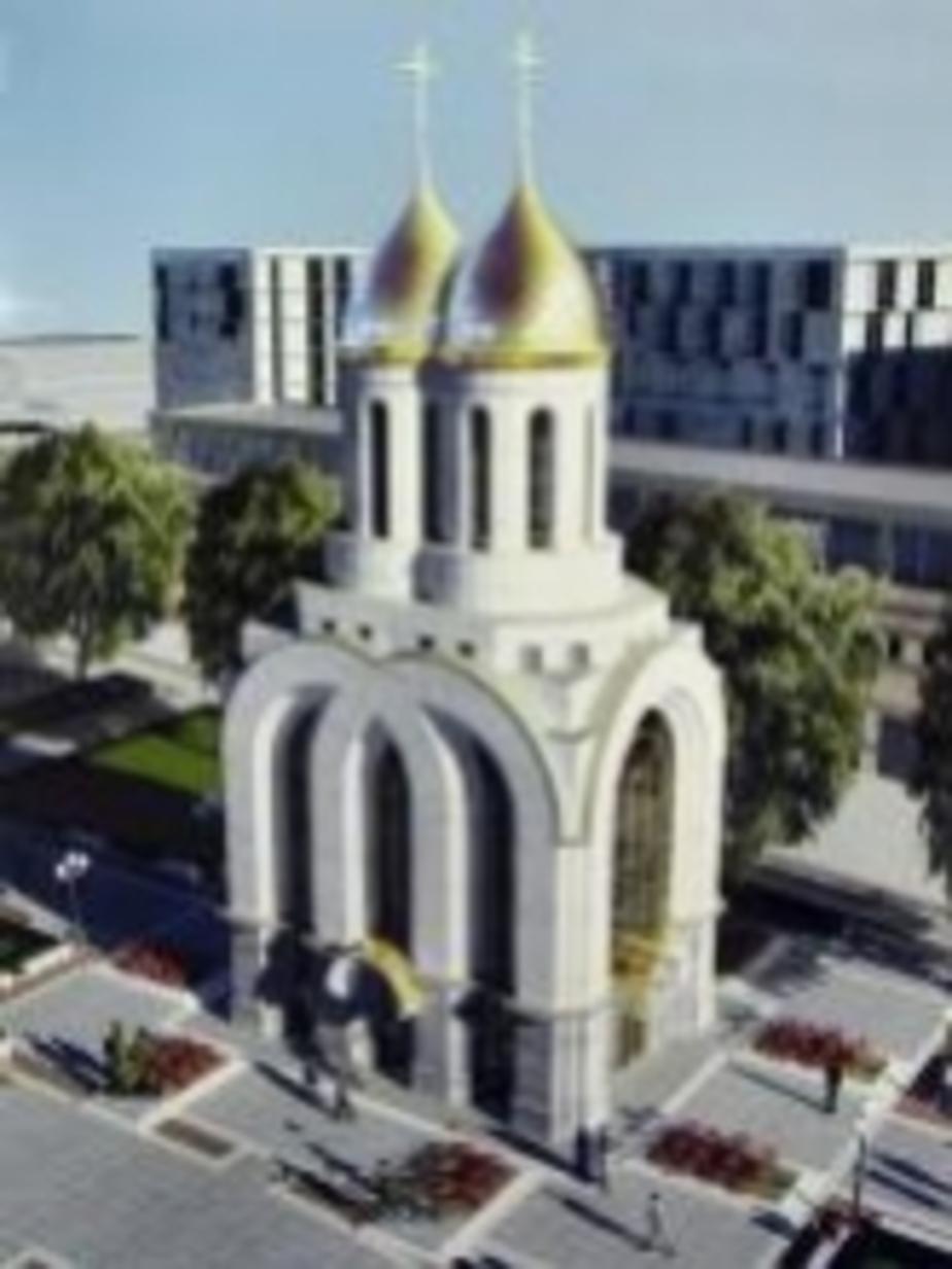 Храм в центре Калининграда спроектировали с раздвоенным куполом - Новости Калининграда