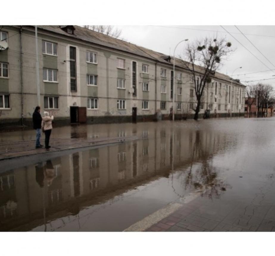 Из-за паводка в Калининграде подтоплены подвалы 38 домов - Новости Калининграда