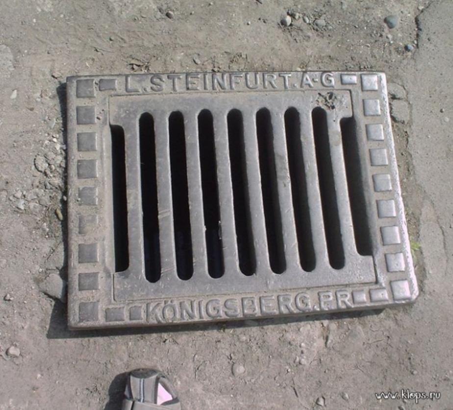 Двое калининградцев ночью украли крышку канализационного люка - Новости Калининграда