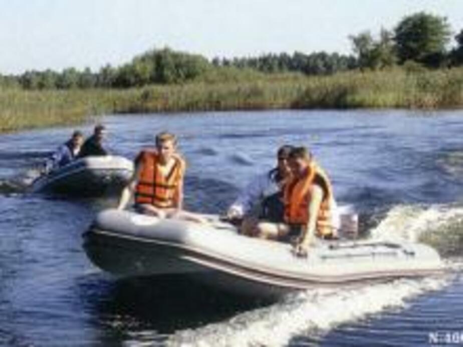 В Калининградском заливе спасены рыбаки - Новости Калининграда