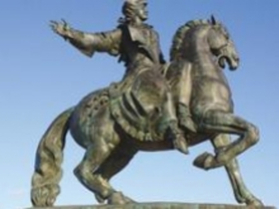 Памятник Елизавете в Балтийске может обрушиться - Новости Калининграда