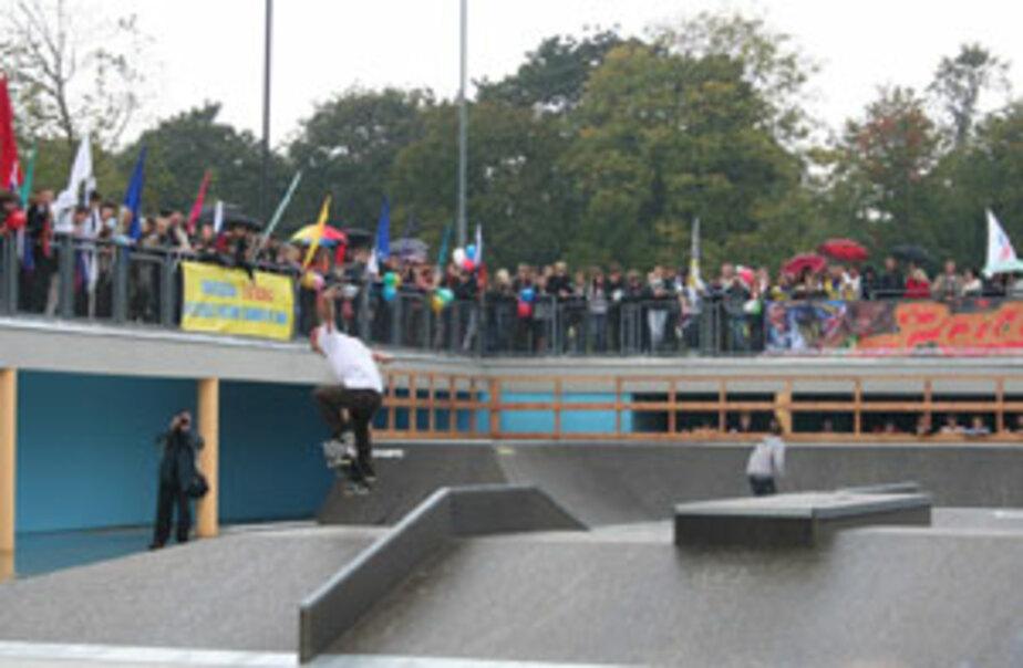 У скейт-парка на Верхнем озере появится крыша - Новости Калининграда