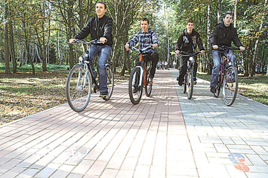 Светлогорск обзавелся собственной велодорожкой - Новости Калининграда