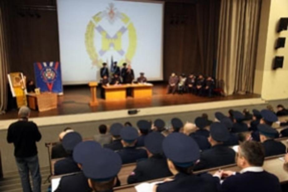 Балтийские казаки отметили 20-летие своей организации и подарили Цуканову шашку - Новости Калининграда