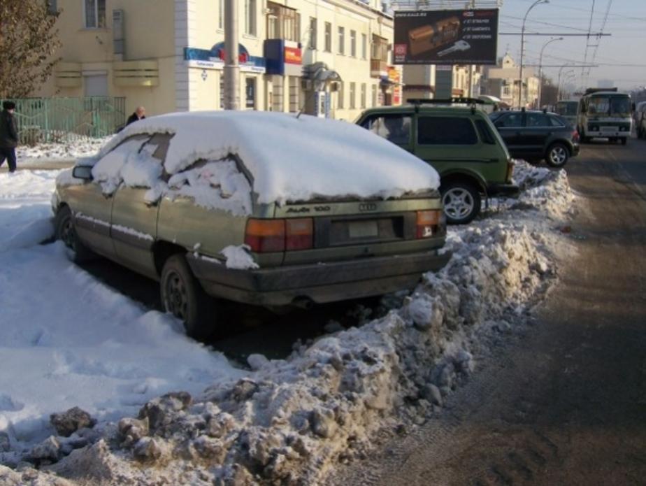 В Калининграде будут штрафовать владельцев- чьи машины мешают уборке снега - Новости Калининграда