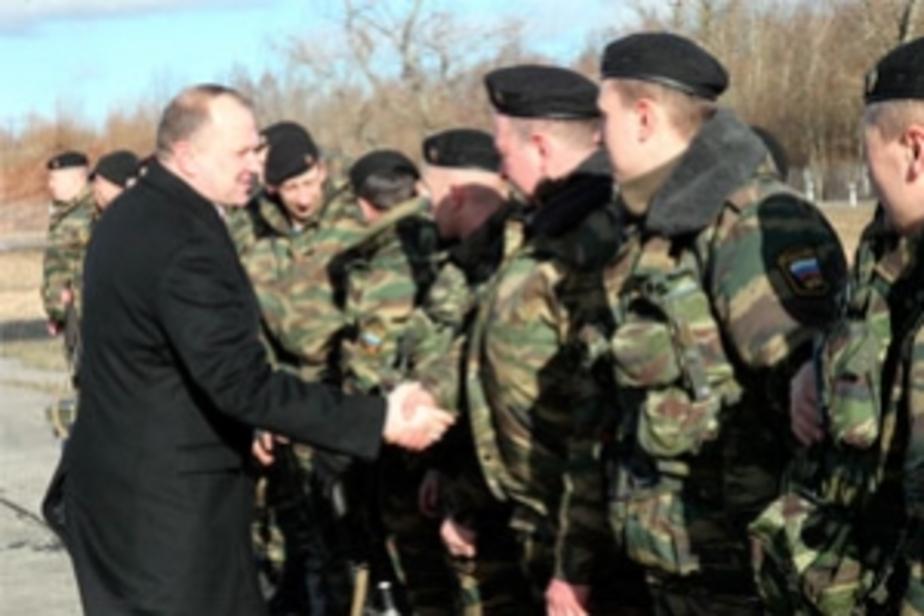 Калининградские милиционеры вернулись из  Чечни - Новости Калининграда