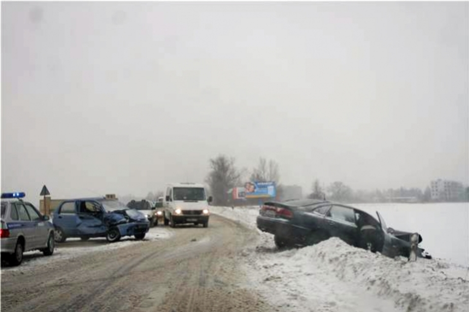 ГИБДД отмечает с утра рост аварий из-за гололеда - Новости Калининграда