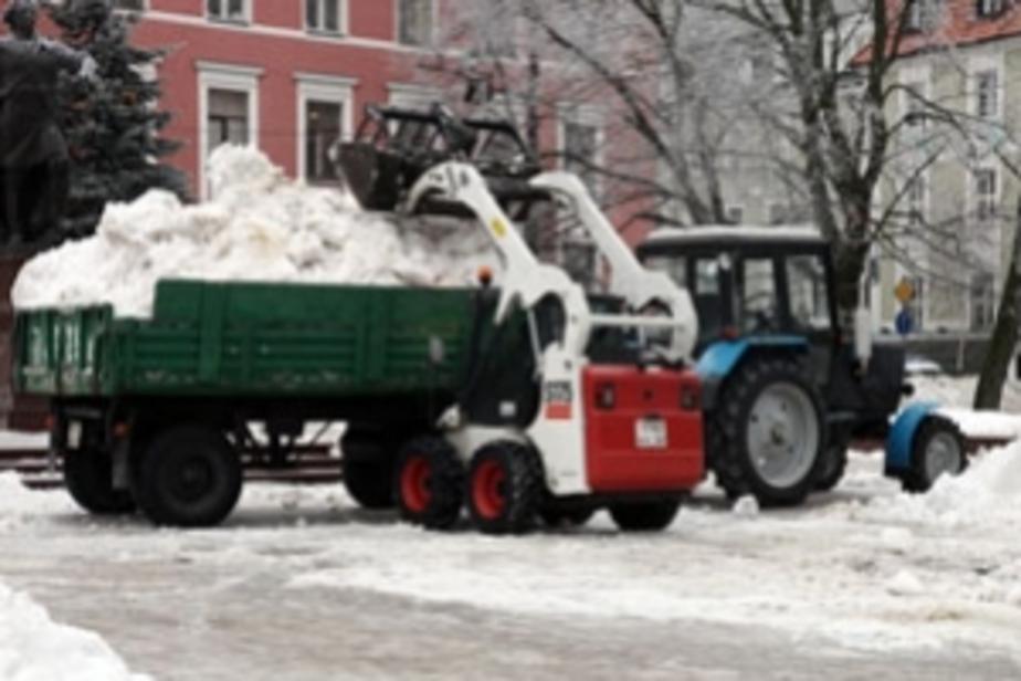 Обнародован список чиновников- наказанных за неубранный снег - Новости Калининграда