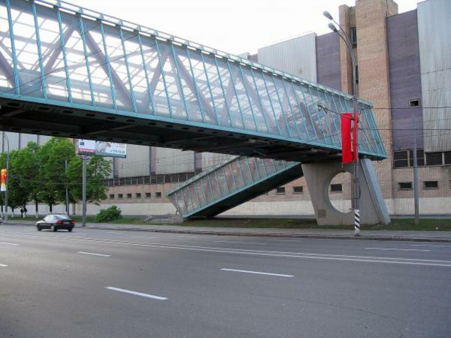 Надземный переход на Московском проспекте появится в сентябре 2011 года - Новости Калининграда