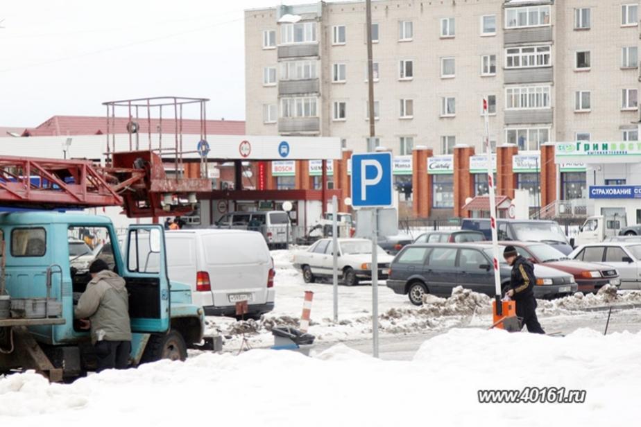 На границе в Советске заработала муниципальная парковка - Новости Калининграда