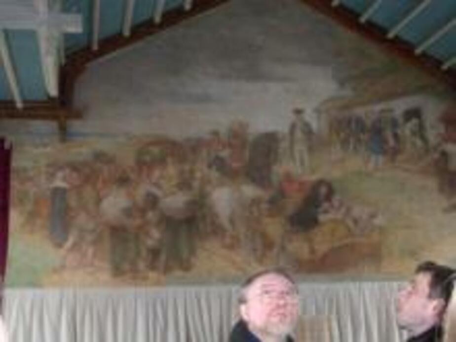 В Гусеве торжественно откроют старинную фреску о переселенцах - Новости Калининграда