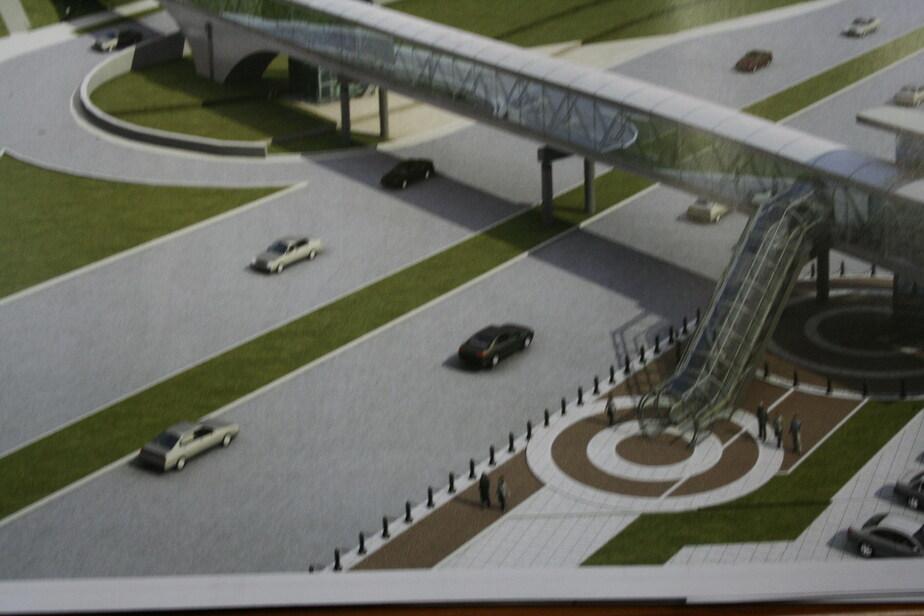 Проект надземного перехода на Московском будет готов в апреле 2011 г- - Новости Калининграда