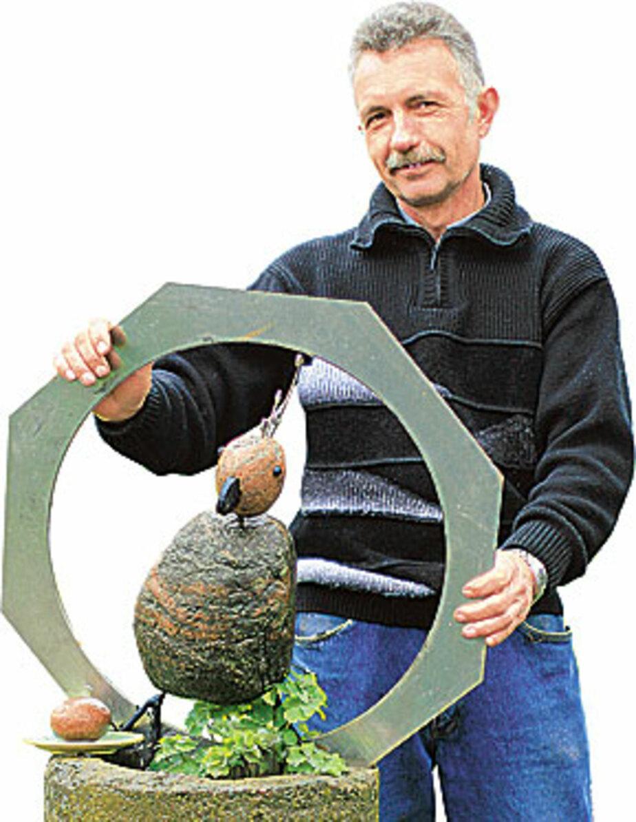 ВОКРУГ ДОМА: Тонна камней ушла в работу - Новости Калининграда