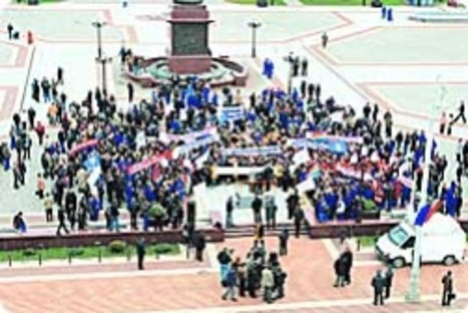 Митинг: «Автотор» закроют? - Новости Калининграда