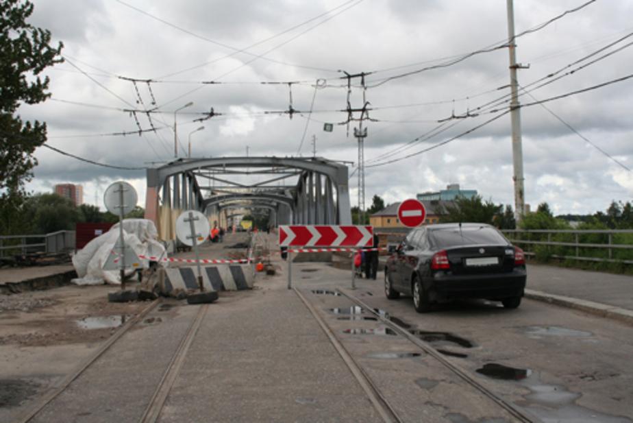 Мост на ул- Киевской в Калининграде закроют на день - Новости Калининграда