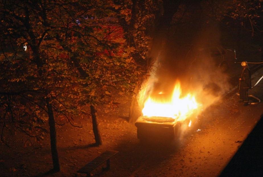 Ночью в области сгорели два автомобиля - Новости Калининграда