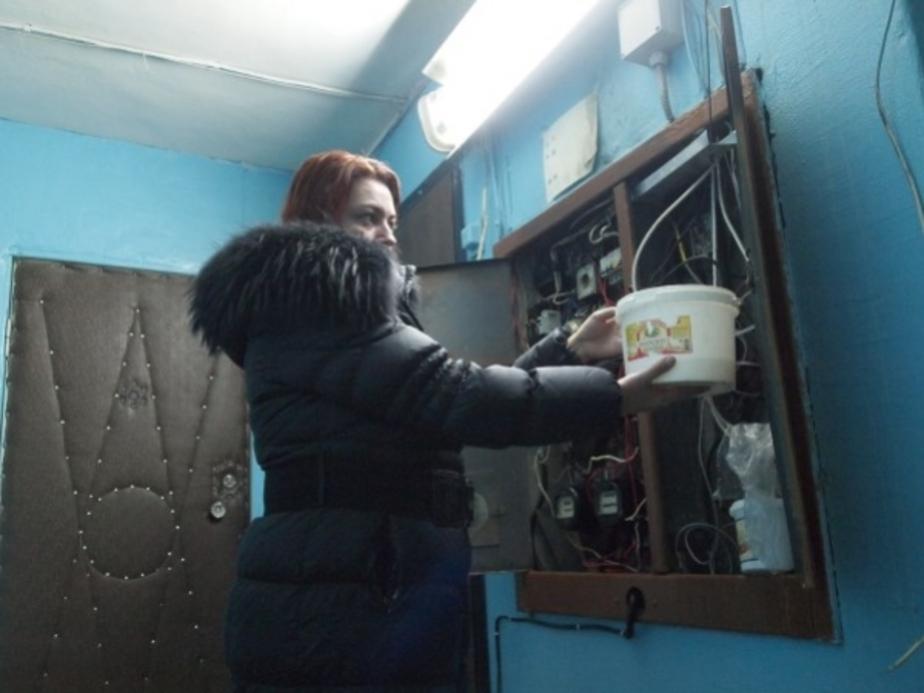 В Калининграде дом протек с десятого этажа по первый - Новости Калининграда