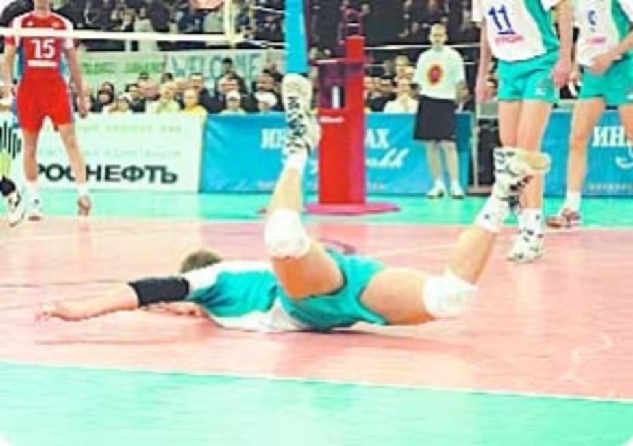 Волейбол: И все-таки «вылетели»… - Новости Калининграда