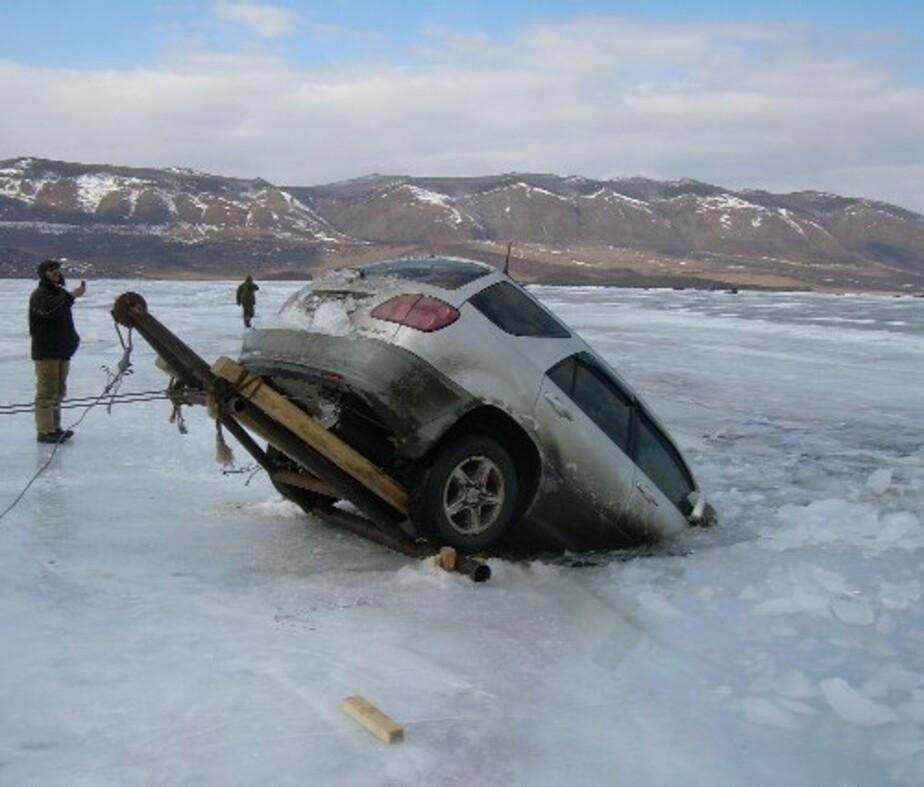 МЧС предупреждает об опасности выхода на лед - Новости Калининграда