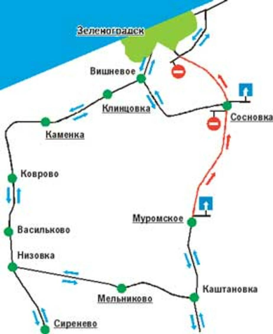В ОБЪЕЗД: К морю - по одной стороне - Новости Калининграда