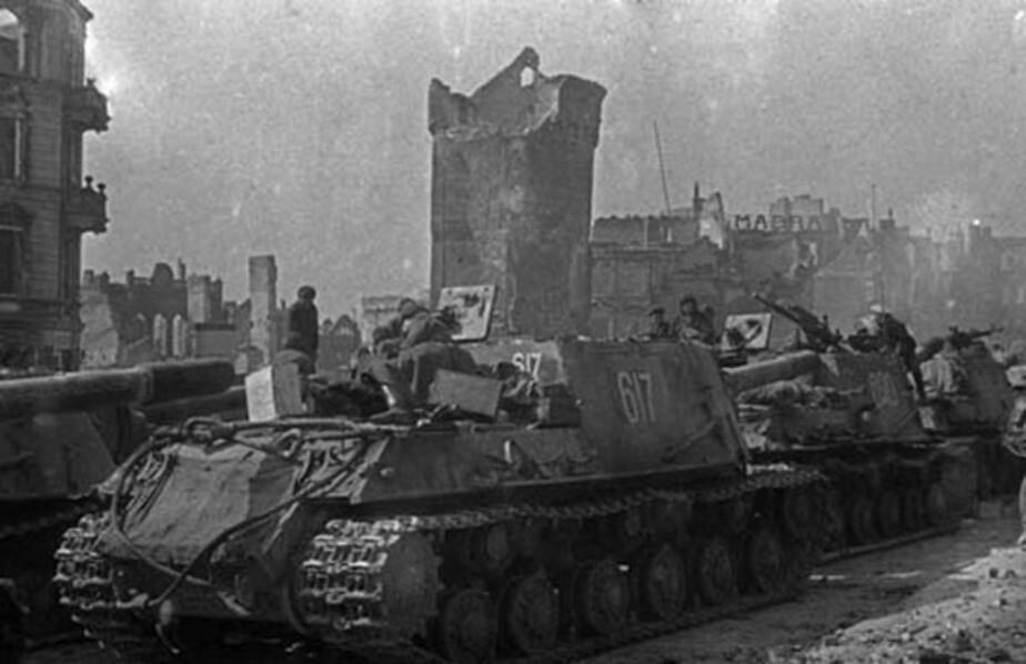 Красная армия помогла союзникам - Новости Калининграда