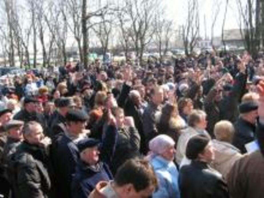 2 тыс- балтийцев потребовали отставки Ярошевича - Новости Калининграда
