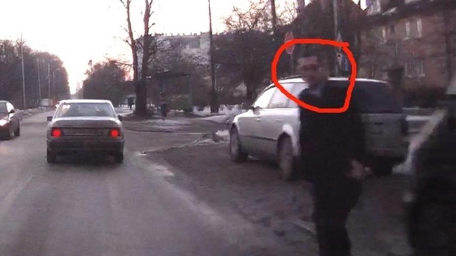 """Калининградец избежал """"автоподставы"""" благодаря установленному в машине видеорегистатору - Новости Калининграда"""