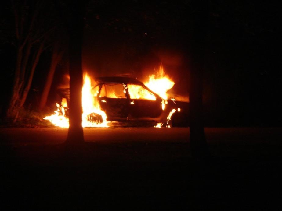 За сутки в Калининграде и области сгорели четыре машины - Новости Калининграда