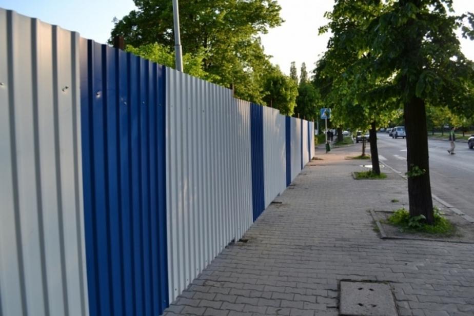 Сквер на К- Маркса в Калининграде восстановят к концу ноября