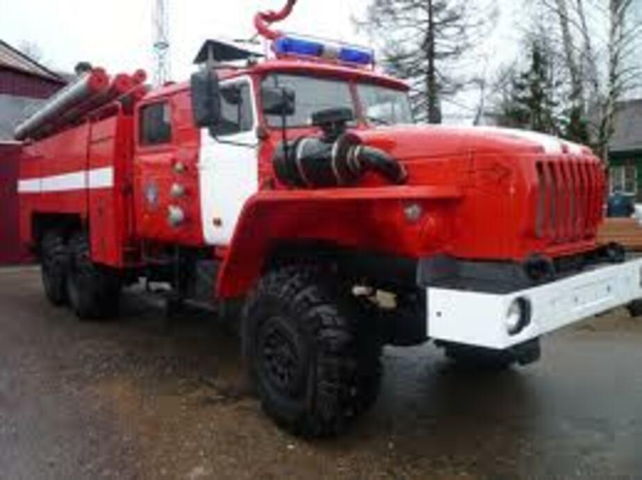 На ул- Батальной сгорел дом на колесах- погиб 45-летний охранник - Новости Калининграда