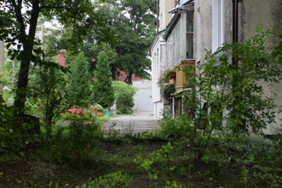 В калининградской многоэтажке соседи не поделили придомовую территорию - Новости Калининграда