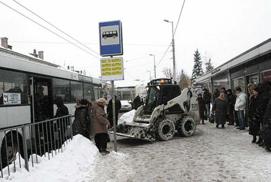 С уборкой снега не справились - Новости Калининграда